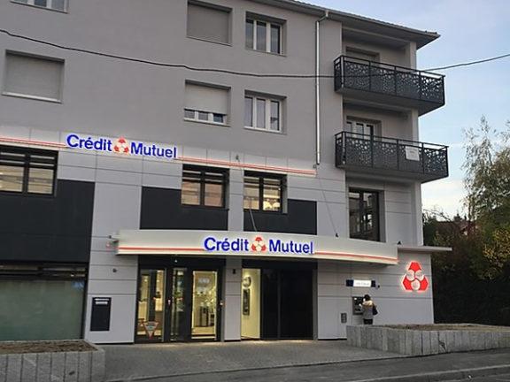 Programmation domotique d'une agence Crédit Mutuel